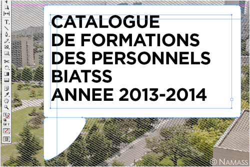 Capture écran du Catalogue de formations des personnels UPOD 2013-2014