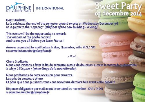 Invitation Sweet Party