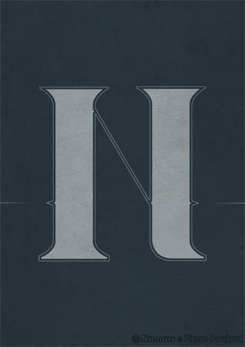 Dessin vectoriel : Lettre N