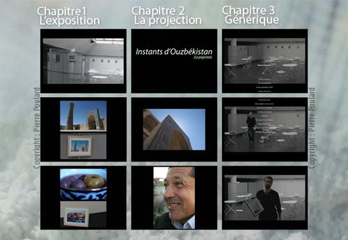 """Dos de la pochette DVD : """"Instants d'Ouzbekistan"""""""