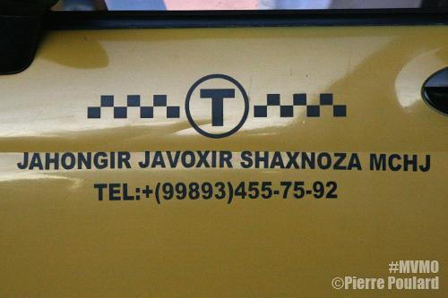 Contats taxi ouzbek