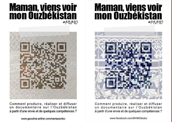 Affiches, Maman viens voir mon ouzbékistan - MVMO