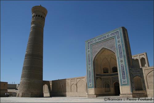 Place du minaret Kalon