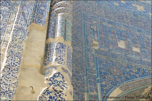 Façade du Palais blanc à Chakhrisabz