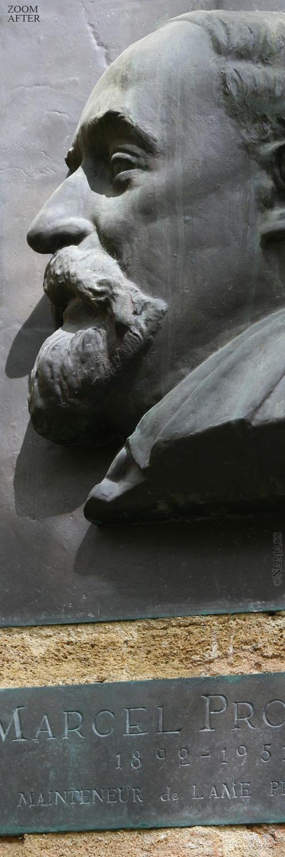 Zoom sur la sculpture de Marcel Provence